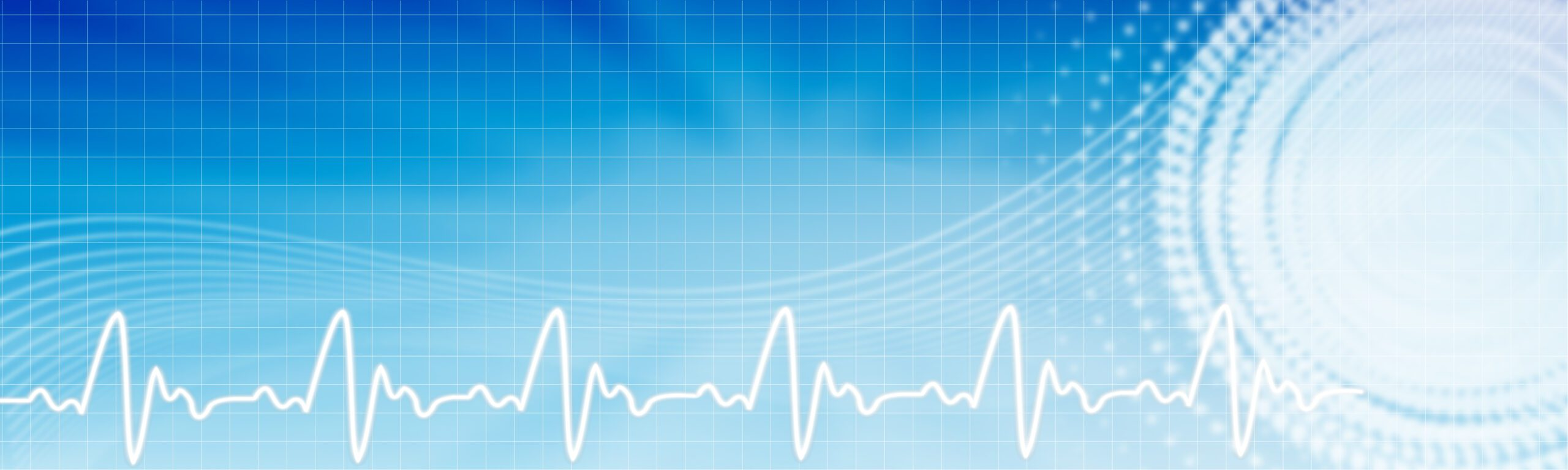 Health care background. Healthcare blue banner with copyspace.